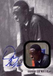 2002-03 Justifiable Autographs Black #50 Dontrelle Willis