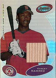 2003 Bowman's Best #HRB Hanley Ramirez FY Bat