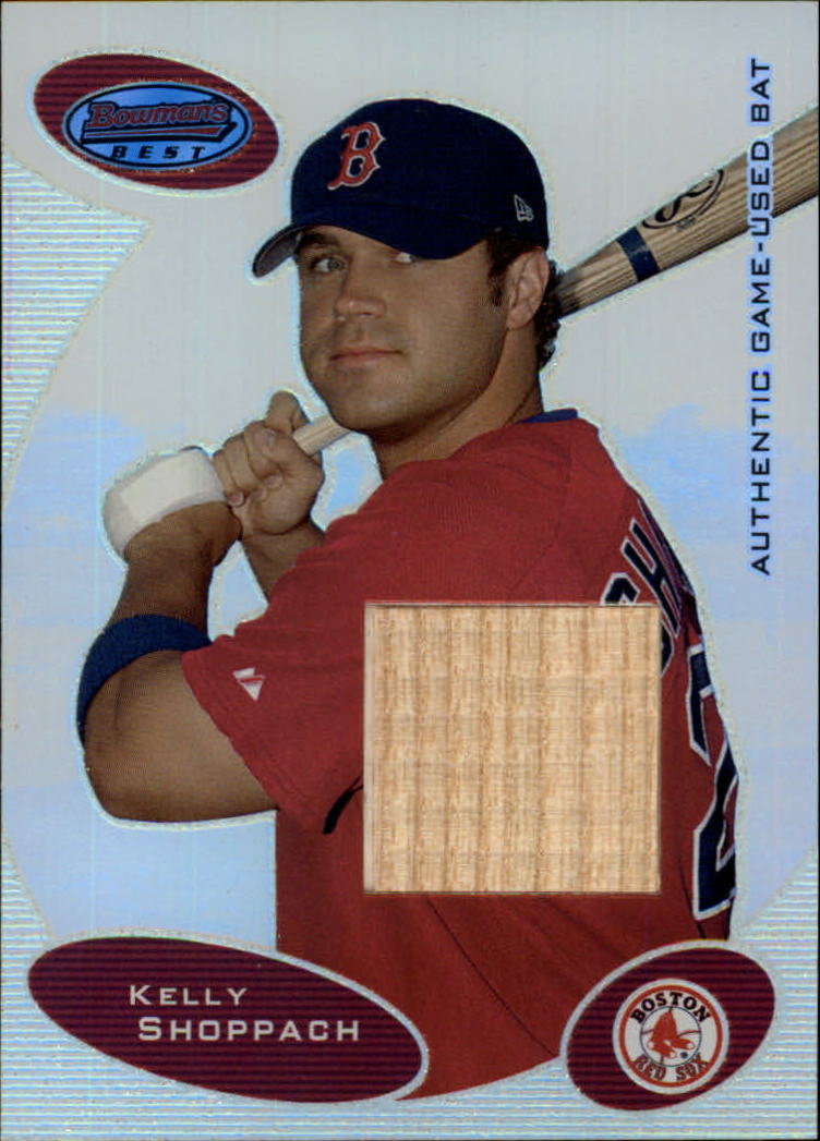 2003 Bowman's Best #KBS Kelly Shoppach FY Bat