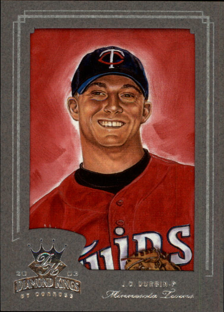2003 Diamond Kings Silver Foil #194 J.D. Durbin ROO