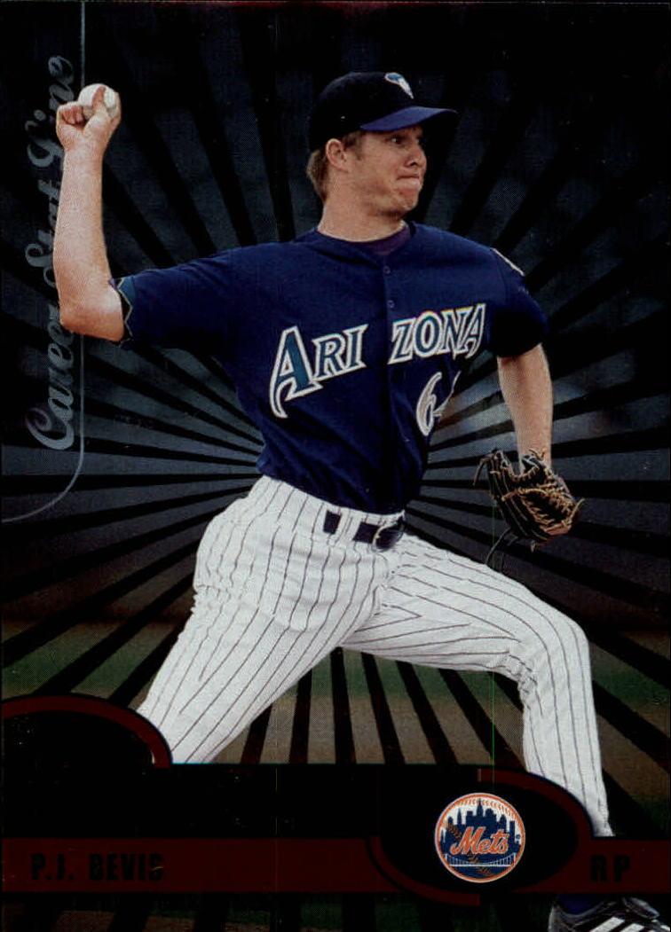 2003 Donruss Stat Line Career #43 P.J. Bevis RR/338