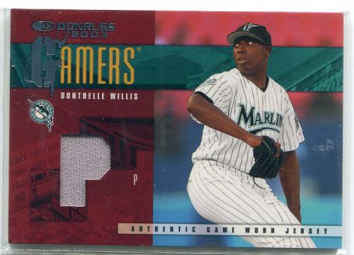 2003 Donruss Gamers Position #49 Dontrelle Willis