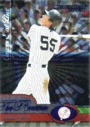 2003 Donruss Rookies Stat Line Career #5 Hideki Matsui/245