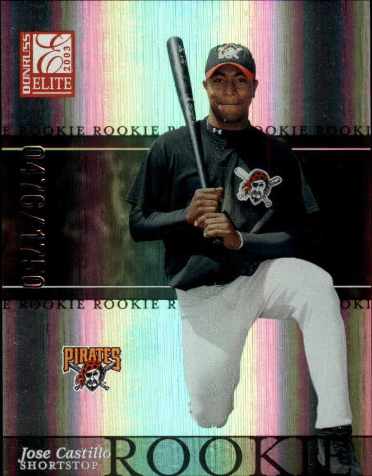 2003 Donruss Elite #189 Jose Castillo ROO