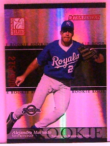 2003 Donruss Elite Extra Edition #16 Alejandro Machado RC