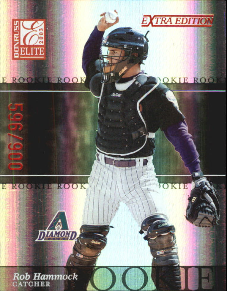 2003 Donruss Elite Extra Edition #18 Rob Hammock RC