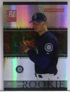 2003 Donruss Elite Extra Edition #24 Rett Johnson RC