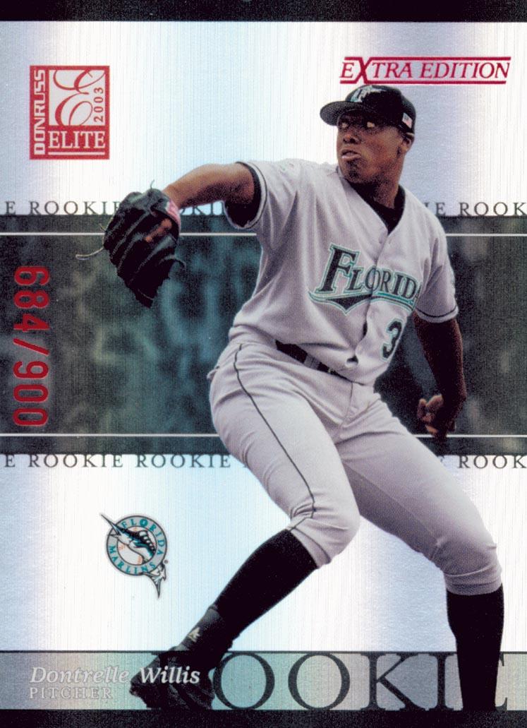 2003 Donruss Elite Extra Edition #29 Dontrelle Willis