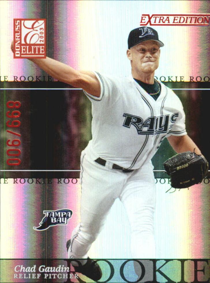 2003 Donruss Elite Extra Edition #31 Chad Gaudin RC