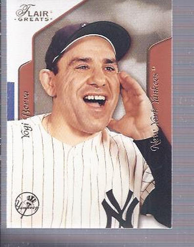 2003 Flair Greats #26 Yogi Berra