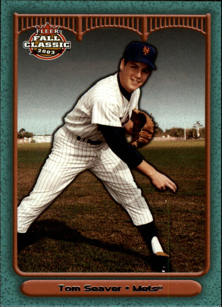 2003 Fleer Fall Classics #4 Tom Seaver