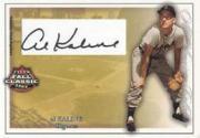 2003 Fleer Fall Classics All-American Autographs #AK Al Kaline/325