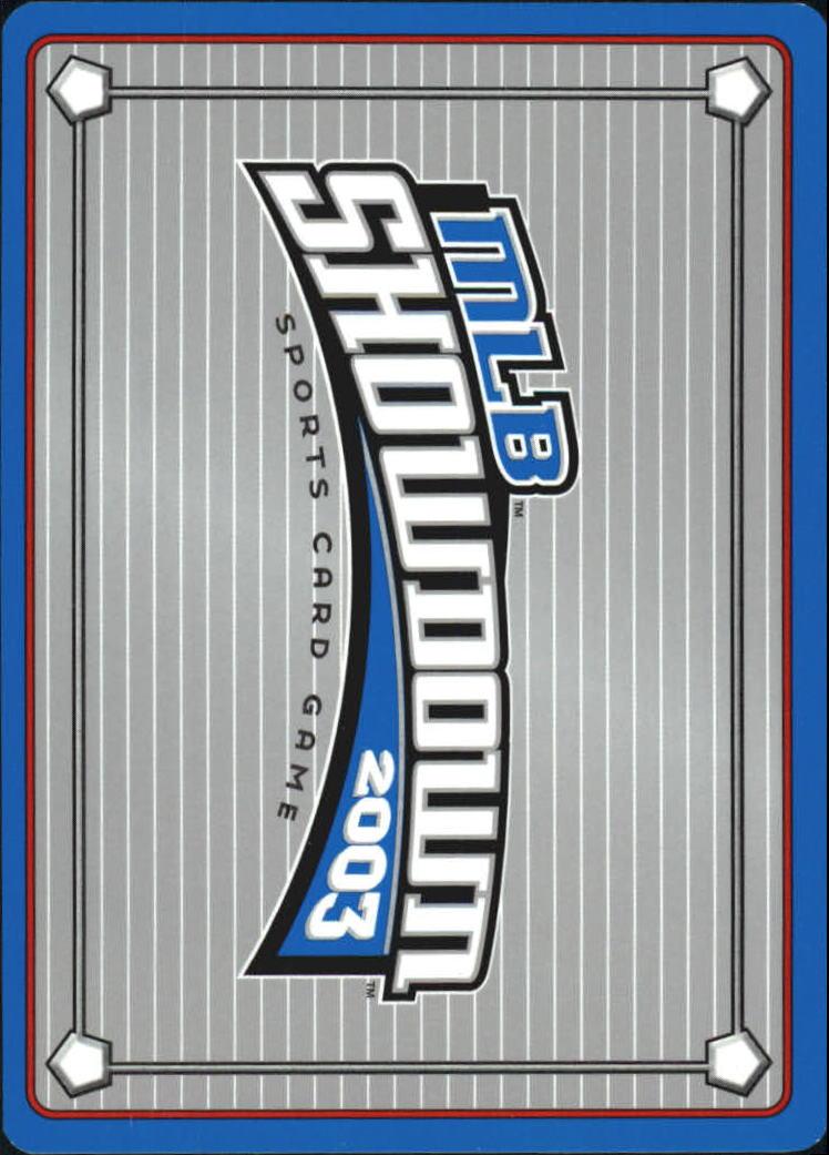 2003 MLB Showdown #73 Corey Patterson back image