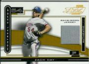2003 Playoff Piece of the Game #19 Zach Day Jsy/50