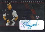 2003 Playoff Prestige Signature Impressions #1 A.J. Pierzynski/50