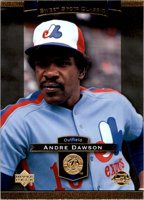 2003 Sweet Spot Classics #3 Andre Dawson