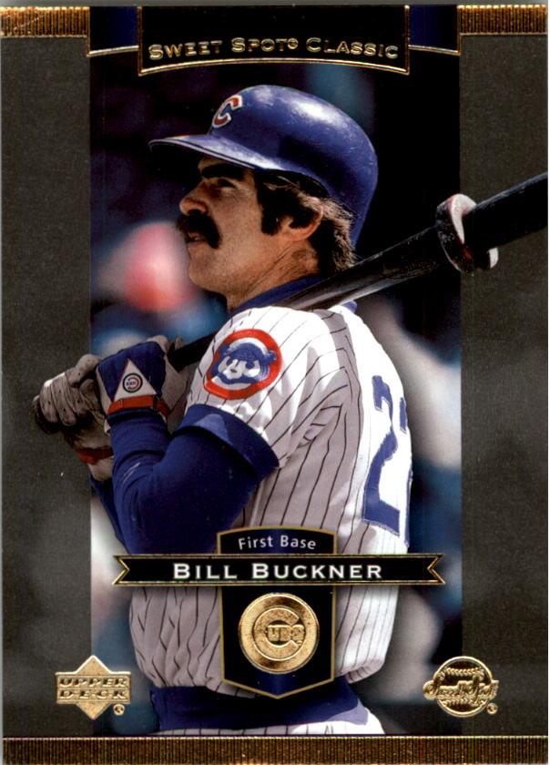 2003 Sweet Spot Classics #4 Bill Buckner