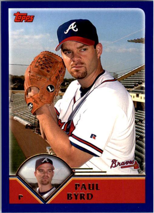 2003 Topps #436 Paul Byrd