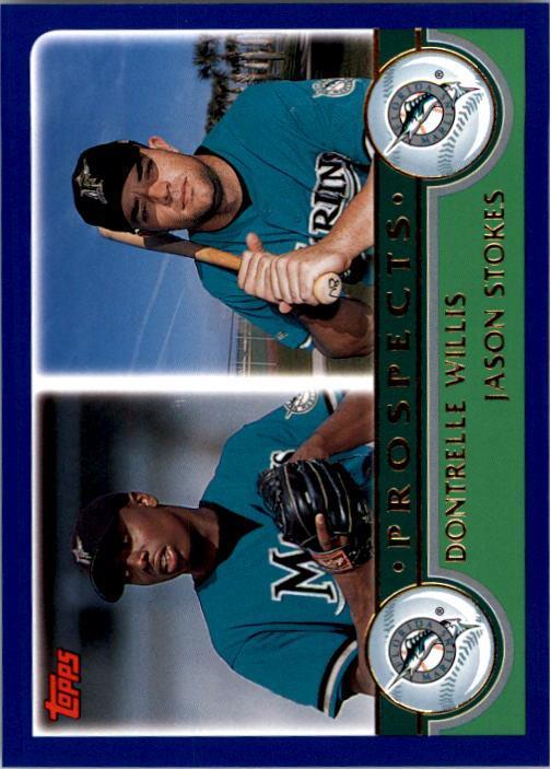 2003 Topps #677 D.Willis/J.Stokes