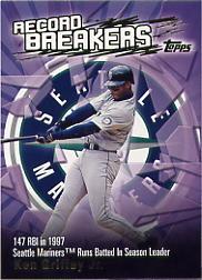 2003 Topps Record Breakers #KG1 Ken Griffey Jr. 1