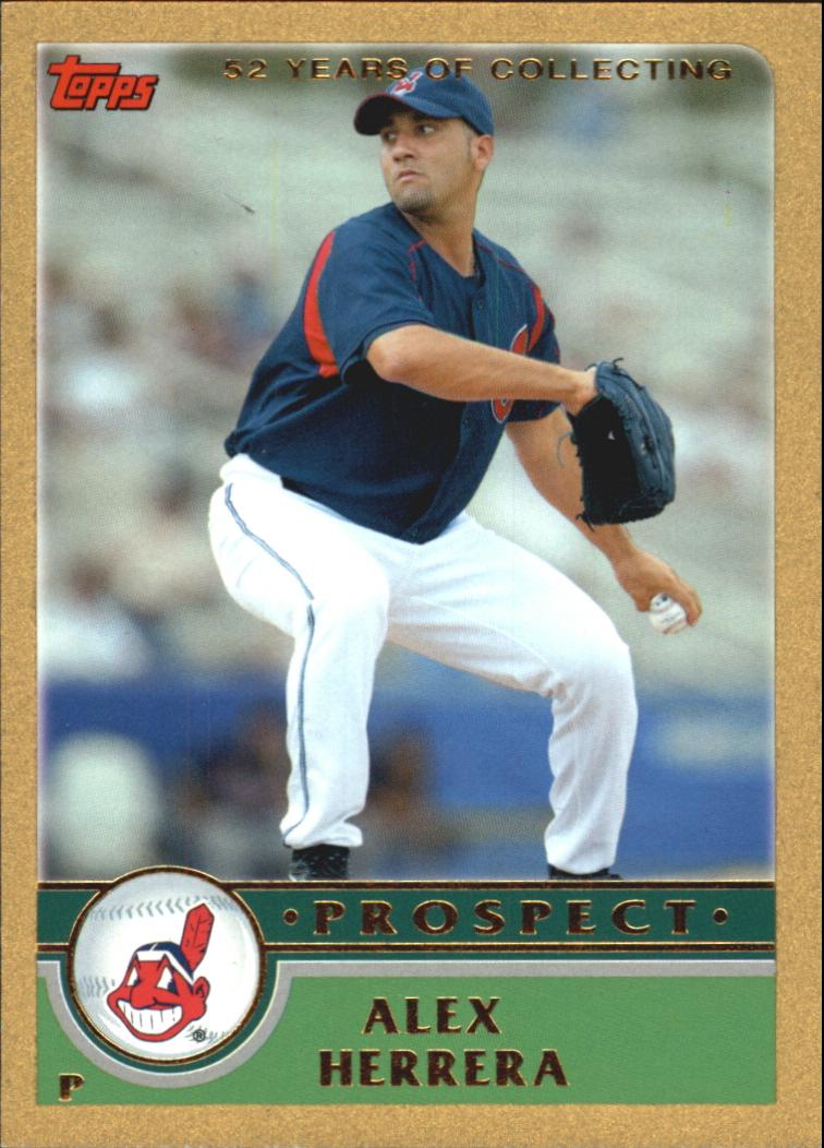2003 Topps Traded Gold #T128 Alex Herrera PROS