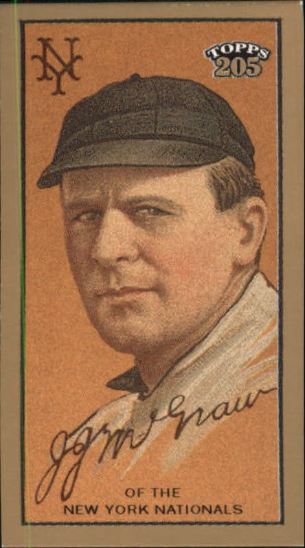 2003 Topps 205 Polar Bear #149 John McGraw REP