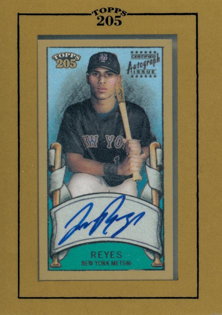 2003 Topps 205 Autographs #JR Jose Reyes D1