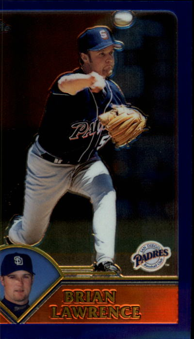2003 Topps Chrome #192 Brian Lawrence