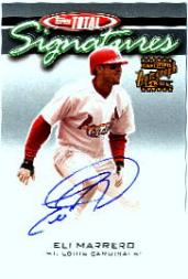 2003 Topps Total Signatures #TSEM Eli Marrero