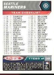 2003 Topps Total Team Checklists #26 Ichiro Suzuki back image