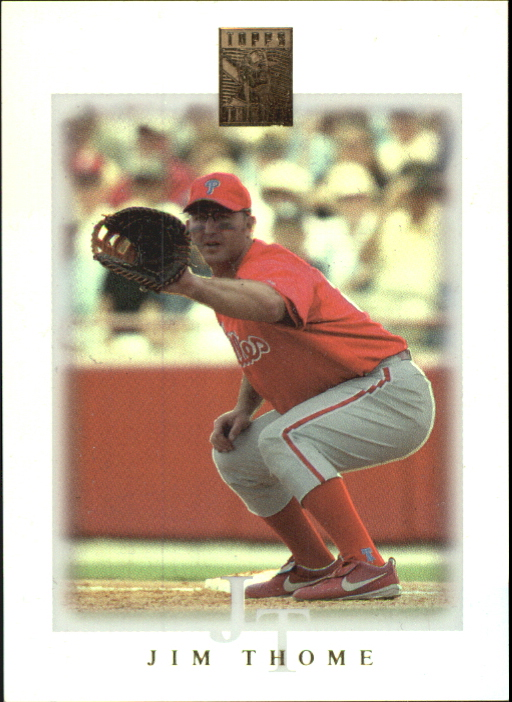 2003 Topps Tribute Contemporary #1 Jim Thome