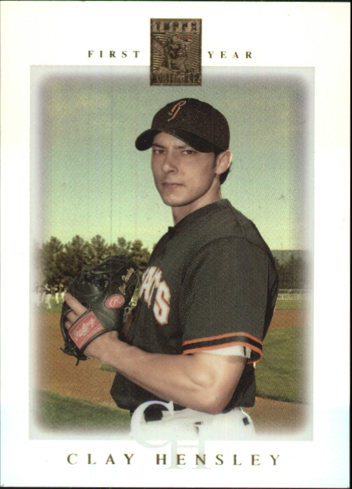 2003 Topps Tribute Contemporary #99 Clay Hensley FY RC