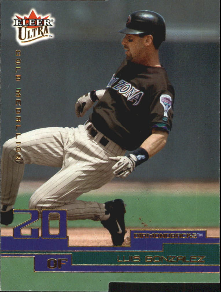 2003 Ultra Gold Medallion #104 Luis Gonzalez