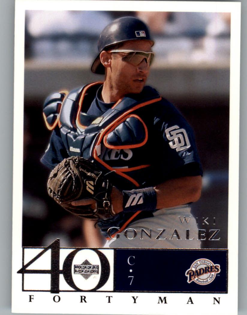 2003 Upper Deck 40-Man #639 Wiki Gonzalez
