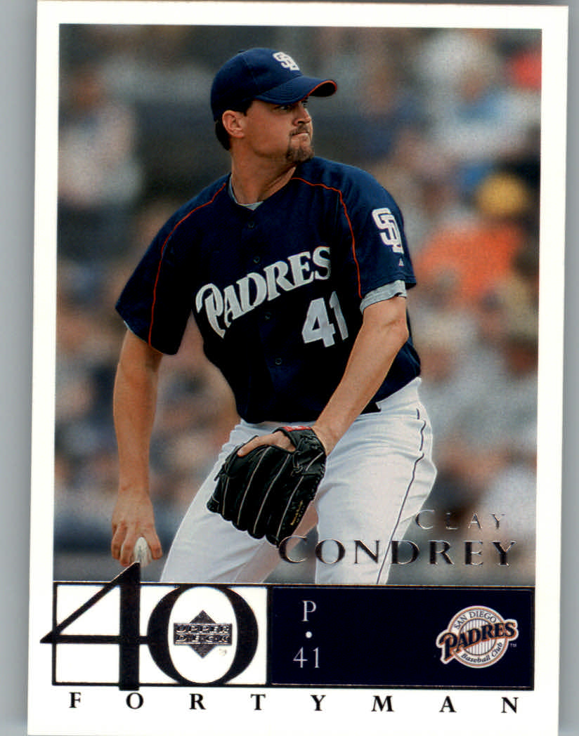2003 Upper Deck 40-Man #643 Clay Condrey