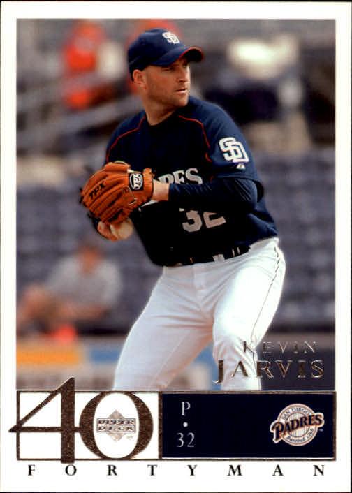 2003 Upper Deck 40-Man #645 Kevin Jarvis