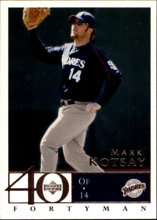 2003 Upper Deck 40-Man #646 Mark Kotsay