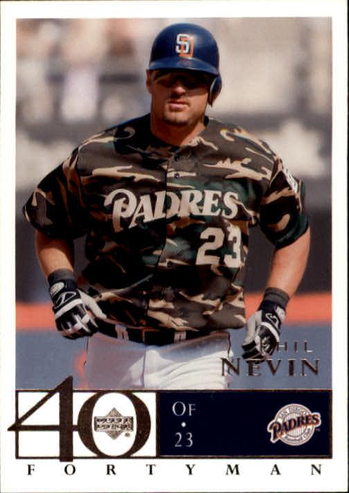 2003 Upper Deck 40-Man #647 Phil Nevin