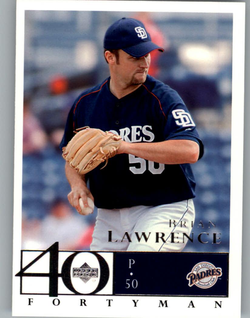 2003 Upper Deck 40-Man #650 Brian Lawrence