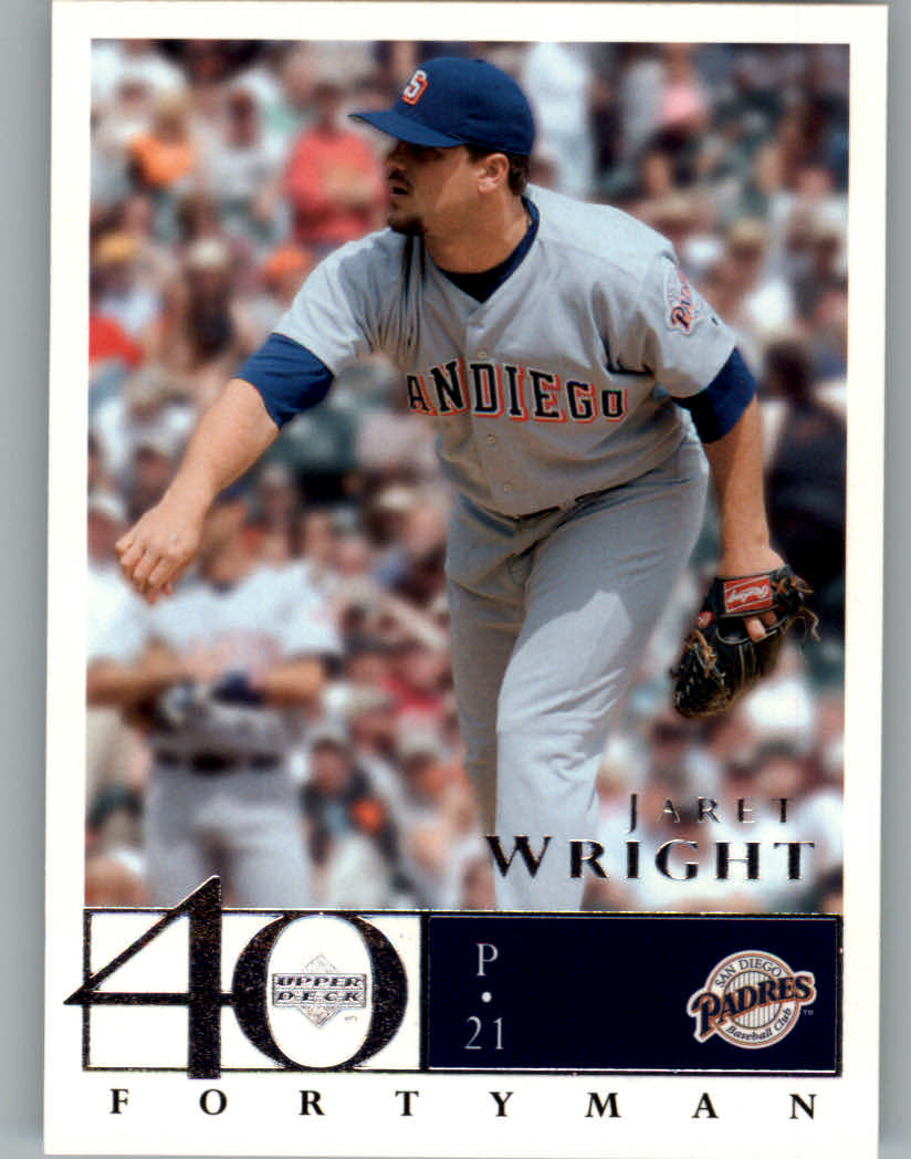 2003 Upper Deck 40-Man #653 Jaret Wright