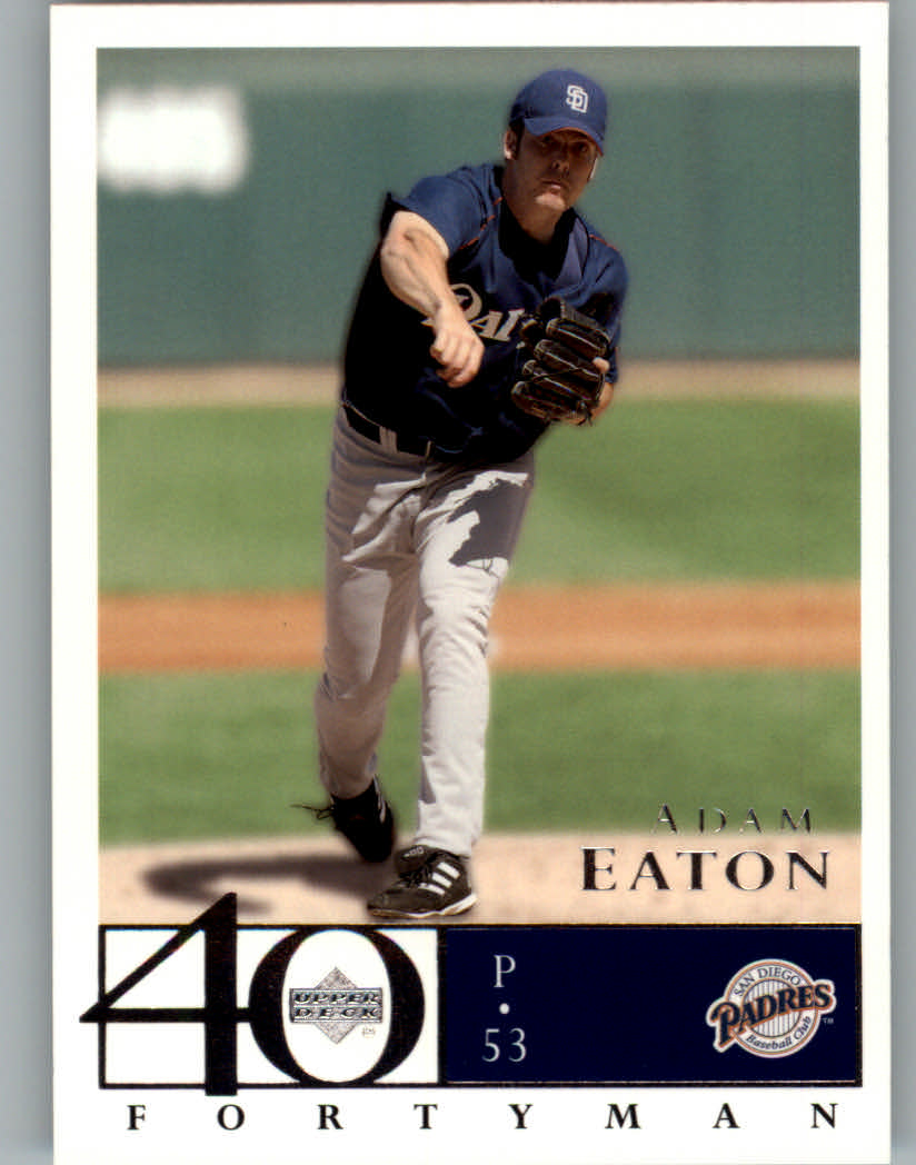 2003 Upper Deck 40-Man #659 Adam Eaton