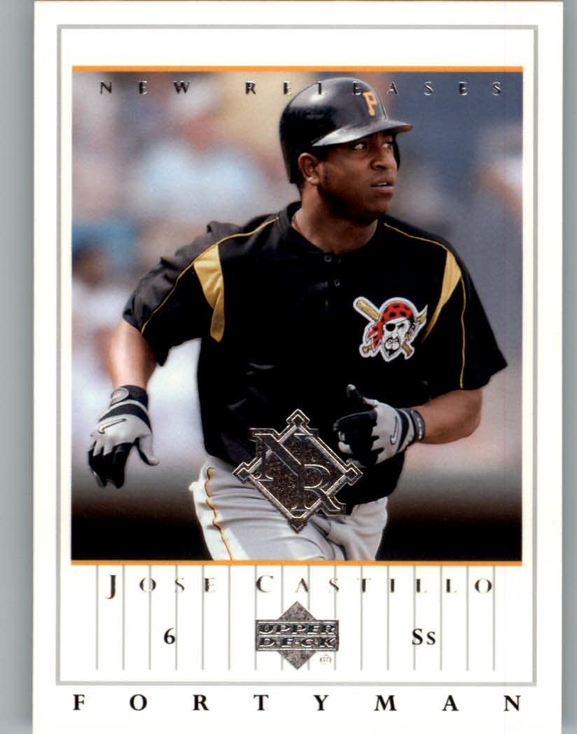 2003 Upper Deck 40-Man #909 Jose Castillo NR
