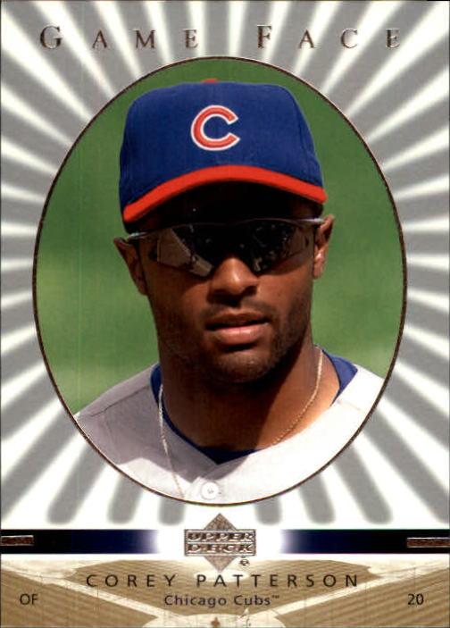 2003 Upper Deck Game Face #26 Corey Patterson