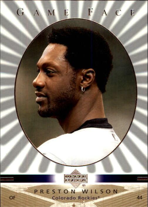 2003 Upper Deck Game Face #39 Preston Wilson