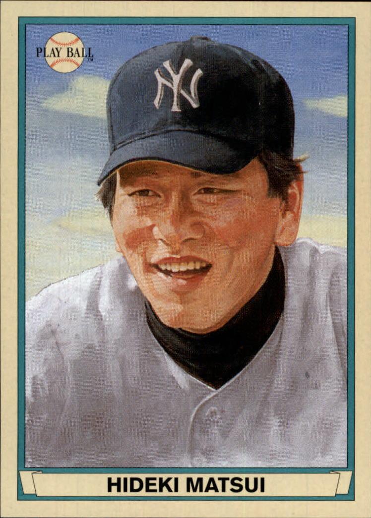 2003 Upper Deck Play Ball #104 Hideki Matsui RC