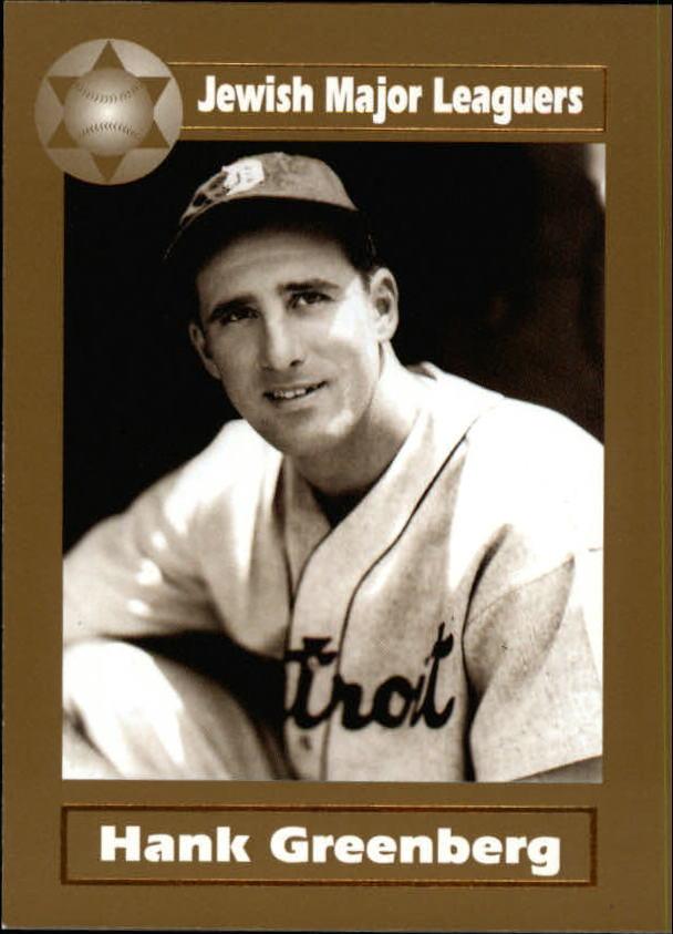 2003 Jewish Major Leaguers Gold #3 Hank Greenberg