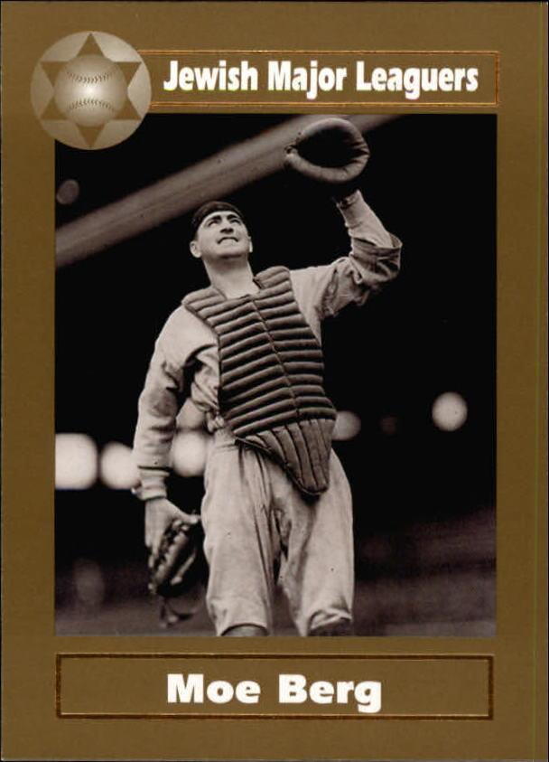 2003 Jewish Major Leaguers Gold #36 Moe Berg