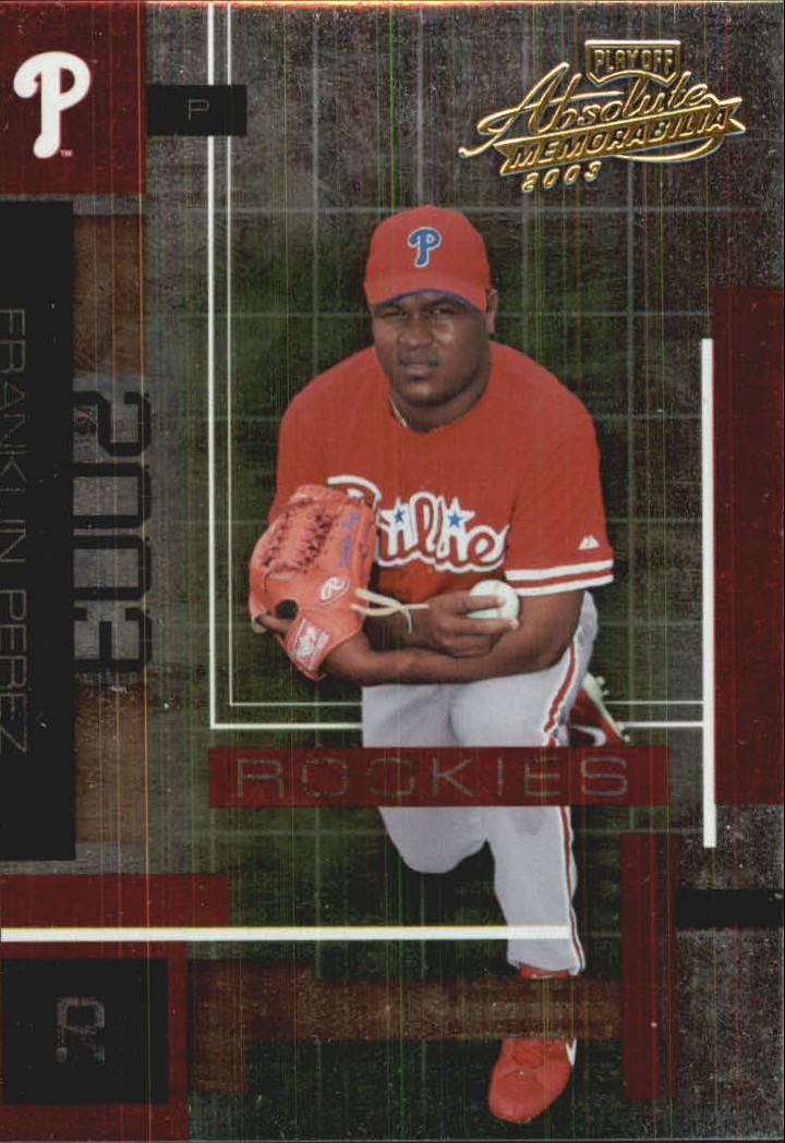 2003 Absolute Memorabilia #164 Franklin Perez ROO RC