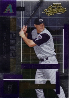 2003 Absolute Memorabilia #167 Tim Olson ROO RC