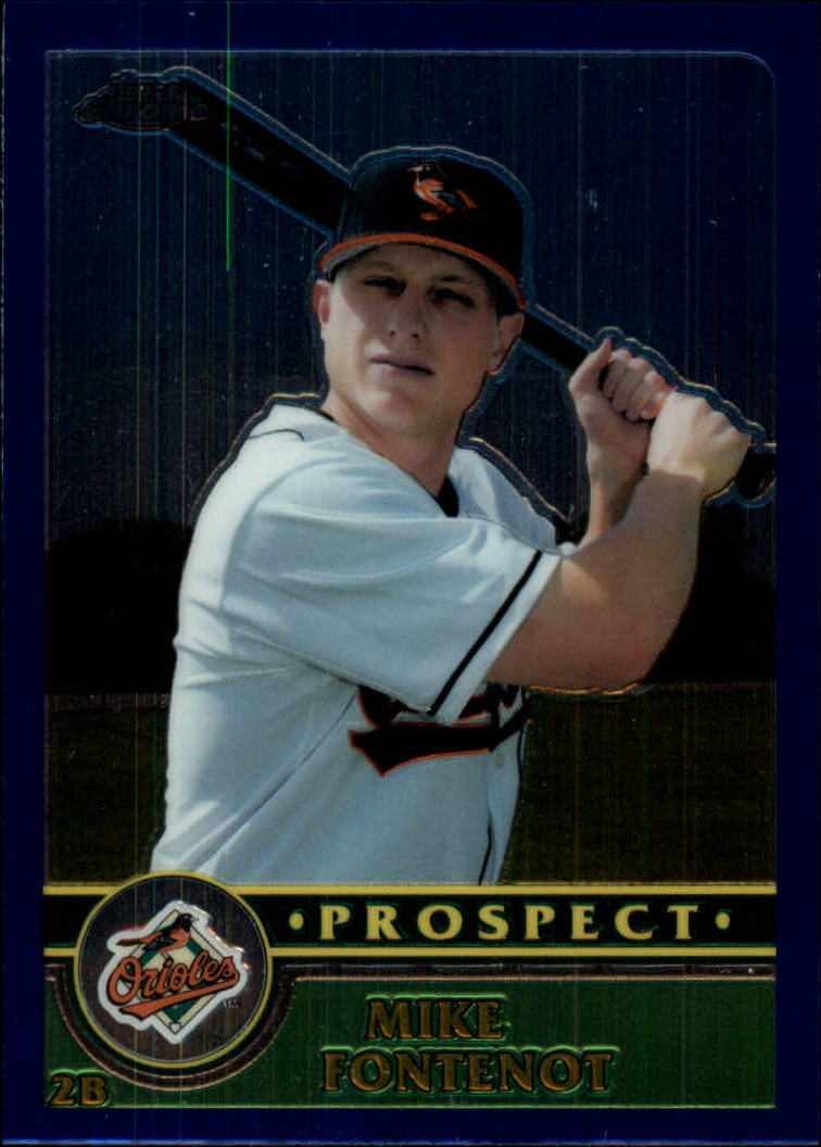 2003 Topps Chrome Traded #T163 Mike Fontenot PROS